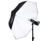 HENSEL MASTER L Umbrella PXL Ø 135 cm. Зонт белый