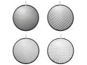 "HENSEL Grid kit for 9"" reflectors. Комплект из 4-х сот"