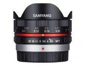 Samyang 7.5mm f/3.5 Fisheye APS-C micro 4/3 black (APS-C)