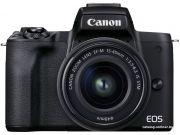 Цифровая фотокамера Canon EOS M50 Mark II EF-M 15-45 + 55-200 kit (черный)