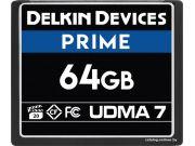Карта памяти Delkin Devices Prime CF 256GB UDMA7 1050X [DDCFB1050256]