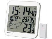 Часы настенные Bresser MyTime LCD, белые