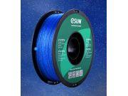 PLA нить ESUN 1.75 мм eTwinkling мерцающий синий Т0030668, 1 КГ