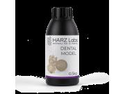 Фотополимер HARZ Labs Dental Model Beige, бежевый (0,5 кг)