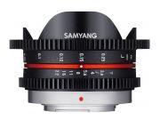 Samyang 7.5mm T3.8 Fisheye CINE micro 4/3 (APS-C)