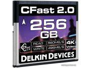 Карта памяти Delkin Devices Cinema CFast 2.0 256GB 560X 4K Video [DDCFST560256]
