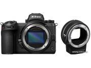 Беззеркальный фотоаппарат Nikon Z7 II Body + FTZ Adapter