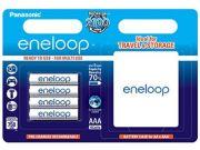 Аккумулятор Panasonic Eneloop BK-4MCCE/C4BE 750 mAh 4шт AAA + case