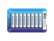 Аккумулятор PANASONIC Eneloop AAA 750 8BP (BK-4MCCE/8LE) 750 mAh, 8 шт, блистер-кейс, AAA