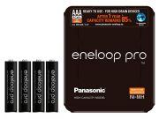 Аккумулятор PANASONIC Eneloop Pro AAA 900 4BP (BK-4HCDE/4LE) 900 mAh, 4 шт, блистер-кейс, AAA