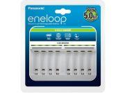 Зарядное устройство Panasonic Eneloop 8 Cells Charger BQ-CC63E для 1 или 8 акк АА/ААА Ni-MH (повреждена упаковка)