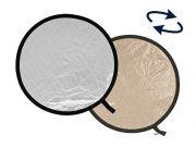 Отражатель Lastolite LL LR4828 120см золотистый/мягкое серебро